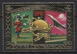 Zentralafrikanische Republik 1978 Post- Und Fernmeldewesen 547 A Postfrisch - Central African Republic
