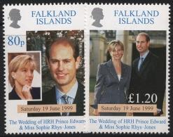 Falkland-Inseln 1999 Prinz Edward 747/48 Postfrisch (R21467) - Falklandeilanden