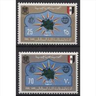 Libyen 1974 100 Jahre Weltpostverein (UPU) 458/459 Postfrisch - Libya