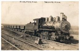 20585  MN Taconite 1907 Oliver Iron Mining Co. Train Pulling Iron Ore Cars, RPC - Treinen