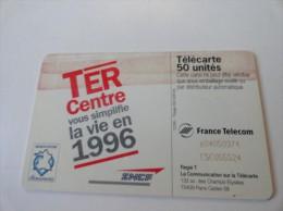 RARE : COULEUR SUR TER REGION CENTRE - Francia