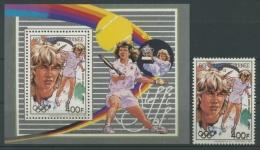 Guinea 1988 Olympiade 1218 Block 316 A Postfrisch (R4712) - Guinea (1958-...)