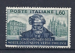 140016678  ITALIA  YVERT  Nº  617  **/MNH - 1946-60: Nuevos