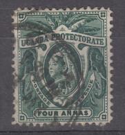 UGANDA    1898  QV    4 A  USED - Kenya, Uganda & Tanganyika