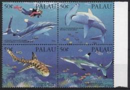 Palau 1993 Haie 614/17 ZD Postfrisch - Palau