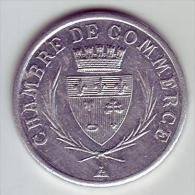 Monnaie De Nécessité - 11 - Narbonne - Chambre De Commerce. 1920 (sans Les étoiles)- 10c - - Monetary / Of Necessity