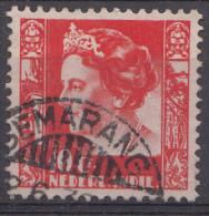 Indes Néerlandaises Mi.nr.:213  Königin Wilhelmina 1934/37 Oblitérés /Used / Gestempeld - Niederländisch-Indien