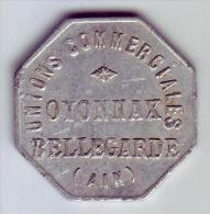 Monnaie De Nécessité - 01 - Oyonnax - Unions Commerciales - 10c - - Monétaires / De Nécessité