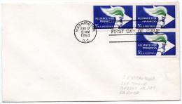 ETATS UNIS Lettre 1963 Cachet Washington - United States