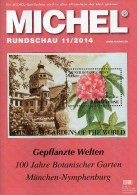 MICHEL Briefmarken Rundschau 11/2014 Neu 6€ Katalogisierung New Stamps Of The World Catalogue And Magacine Of Germany - Pasatiempos Creativos