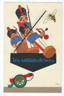 Carte De Visite - Chaussures Raoul - Le Havre- Les Soldats De Bois- - Cartes De Visite