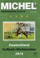 Briefmarken Rundschau MICHEL 8/2014 Neu 6€ New Stamps Of The World Catalogue And Magacine Of Germany ISBN4 194371 105009 - Tedesco
