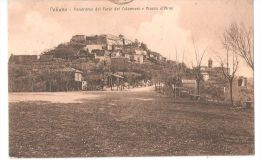 PALIANO ( FROSINONE ) PANORAMA DAL FORTE DEI COLONNESI E PIAZZA D'ARMI - 1935 - Frosinone
