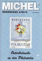 Briefmarken Rundschau MICHEL 4/2014 Neu 6€ New Stamps Of The World Catalogue And Magacine Of Germany ISBN4 194371 105009 - Schede Telefoniche