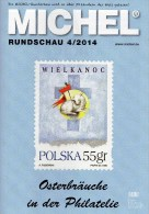 Briefmarken Rundschau MICHEL 4/2014 Neu 6€ New Stamps Of The World Catalogue And Magacine Of Germany ISBN4 194371 105009 - Chronicles & Annuals