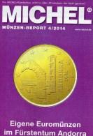 Briefmarken Rundschau MICHEL 4/2014 Neu 6€ New Stamps Of The World Catalogue And Magacine Of Germany ISBN4 194371 105009 - Allemand