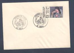 France, 2205, Oblitération Arras, Lens, 27/03/1982, Journée Du Timbre, Femme Lisant, Picasso - Marcophilie (Lettres)