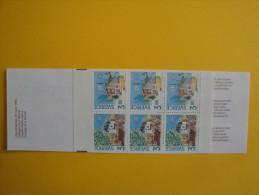 Suède 1990  1572a  Carnet  N° C1572  ** Europa  Bureaux De Poste - Scott 1812a Post Office Building - Carnets