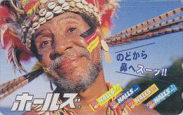Rare Télécarte Japon - PAPOUASIE - PAPOU & Coquillage - PAPUA & Shell Japan Phonecard Telefonkarte - 39 - Papouasie-Nouvelle-Guinée