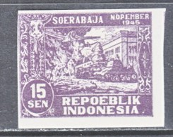 JAVA  REVOLUTIONALY  ISSUE  1L 34 A  * - Indonesia