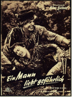 Illustrierte Film-Bühne  -  Ein Mann Liebt Gefährlich  -  Mit Robert Taylor  -  Filmprogramm Nr. 3052 Von 1955 - Magazines