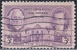 USA / États-Unis   1936  #  776  ( Texas  Centennial ) - Stati Uniti
