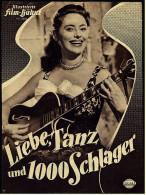 Illustrierte Film-Bühne  -  Liebe, Tanz Und 1000 Schlager  -  Mit Caterina Valente  -  Filmprogramm Nr. 2976 Von 1955 - Magazines
