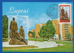 Rumänien; Maximumcarte; Lupeni 29; Valea Jiului; - Maximumkarten (MC)