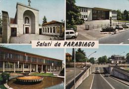 PARABIAGO   /   Saluti Con Vedutine _ Viaggiata - Milano