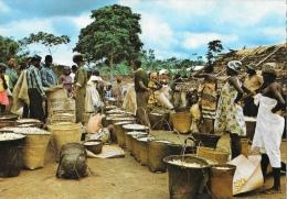 Images Du Gabon - Marché D'arachides Dans La N'Gounié - Gabon