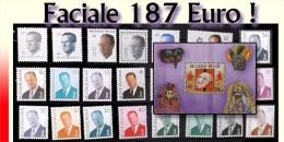 Belgium S�ries, blocs et d�pareill�s - Faciale 7532 FB (187 euro)