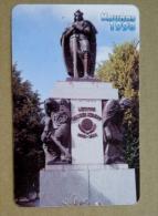 Small Calendar From Lithuania 1998 Kaunas Monument Grand Duke Vytautas Sward - Kalender