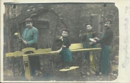 Travail Du Bois-Menuisiers , ébénistes - Photographe Van De Walle - à Situer - Artesanal