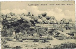 Cpa  Castelvetrano Selinunte Tempio - Italien