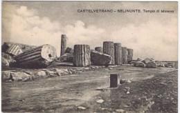 Cpa  Castelvetrano Selinunte Tempio Di Minerva - Italien