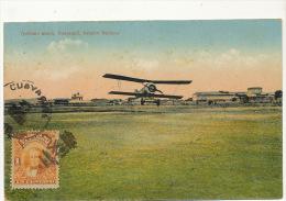 Guayaquil Ypdromo Nuevo, Aviador Nacional Airport Aerodrome Stamped But Not Postally Used - Ecuador