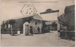CASABLANCA  ENTREE DU DEPOT DES ISOLES METROPOLITAINS - Casablanca