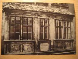 Wien Amadeus MOZART Wohnung Museen Museum Music Post Card Austria - Music
