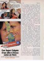 1970 -  Dentifricio COLGATE  -   1  Pubblicità Cm. 13,5 X 18,5 - Magazines