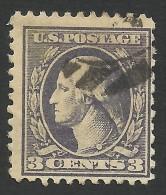 United States,  3 C. 1918, Sc # 530, Used. - Verenigde Staten