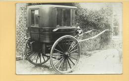 PHOTO Old Carriage les ann�es 1900  Alten Wagen JAHRE 1900
