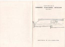 ^ ROMA CASILINA LOTTO C COSTRUZIONE GARBARINO SCIACCALUGA MEZZACANE DOCUMENTO 27 - Architettura
