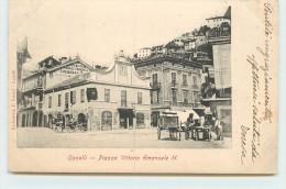 CANELLI  - Piazza Vittorio Emanuele II. - Italy
