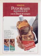 1970 - PETROLEUM ROBERTS -   1  Pubblicità Cm. 13,5 X 18,5 - Riviste