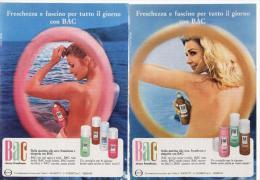 1970 - Deodorante BAC  -   1  Pubblicità Cm. 13,5 X 18,5 - Magazines
