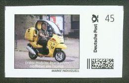 MARKE INDIVIDUELL Deutsche Post Mobiler Briefkasten Motorrad 45 C ** - Privados & Locales