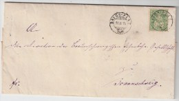 """Schweiz, 1874, K2 """" Davos-Platz """" Ausland-Brief , S364 - Briefe U. Dokumente"""