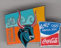 GREECE - Torch Race/Herakleion, Coca Cola Grand Sponsor Of Athens 2004 Olympics, Tirage 5500, Unused - Giochi Olimpici