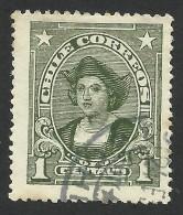 Chile, 1 C. 1920, Scott # 143, Used. - Chile