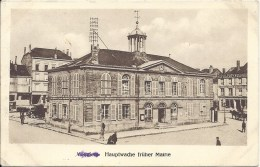 08 Ardennes - VOUZIERS - Hauptwache Früher Mairie - Hôtel De Ville - Feldpost 1917 - Cachet Militaire Allemand - Vouziers